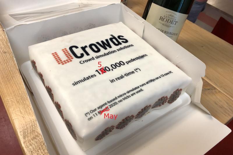 150.000 cake celebration image