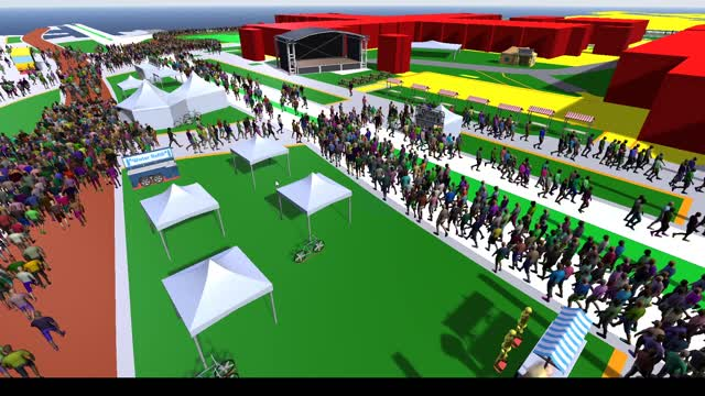 Year 2020 in review: interactive simulation image